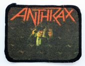 Anthrax - 'Among the Living' Printed Patch